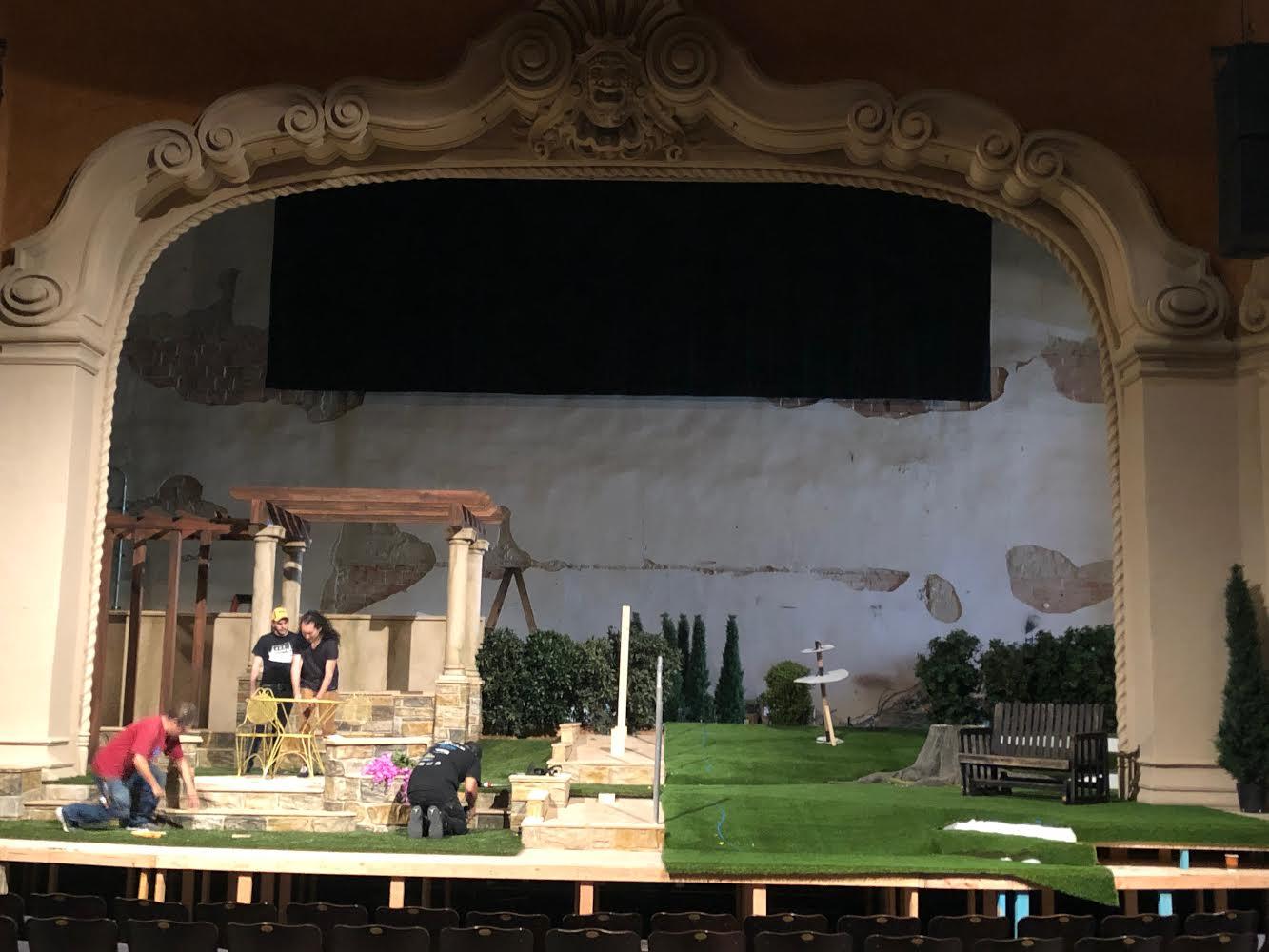 From Page To Stage Set Designer David Meyer On Native Gardens Pasadena Playhouse
