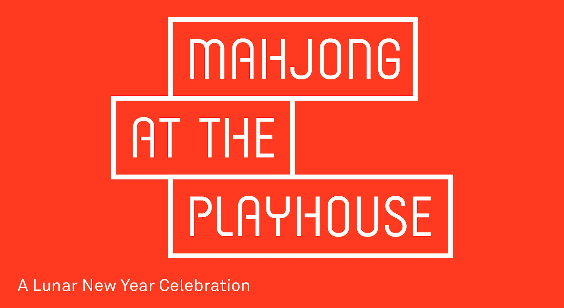Mahjong at the Playhouse