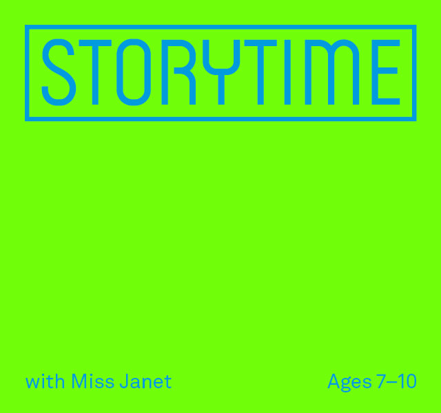 Storytime with Miss Janet